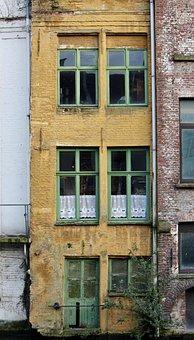 House On Water, Gent, Belgium