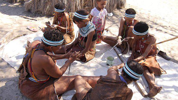 Botswana, Bush People, Buschman, Tradition