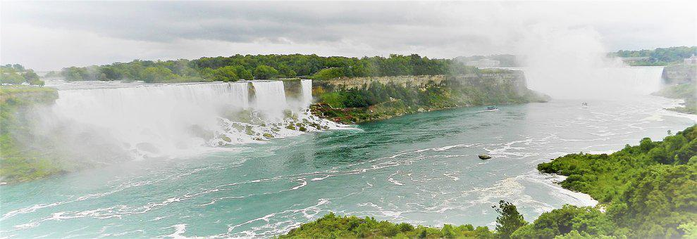 Niagara Falls, Canada, Nature, Waterfall, Tourism