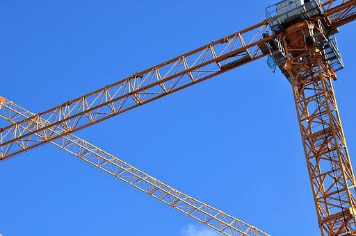 Construction Cranes, Crane, Baukran, Site