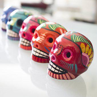 Day Of The Dead, Skulls, Campeche, Dia De Los Muertos