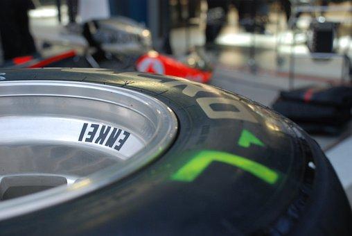 Tyre, F1, Tire, Enkei, Formula, Race, Motorsport