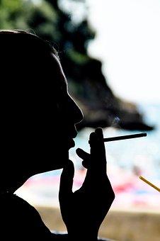 Smoking, Cigarette, Smoke, Tobacco, Face, Addiction