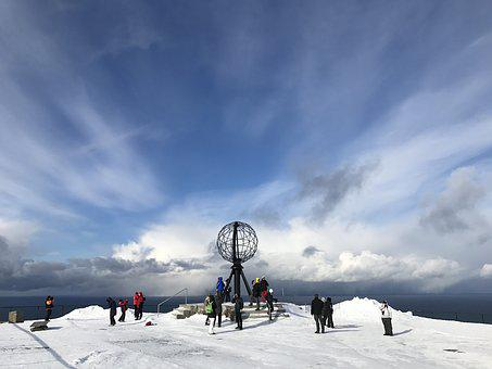 Norway, Hurtigruten, Scandinavia, Norge, Snow, Sky