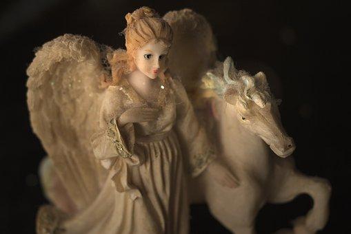 Angel, Horse, Dusty, Dust, Knick-knack, Nic Nac