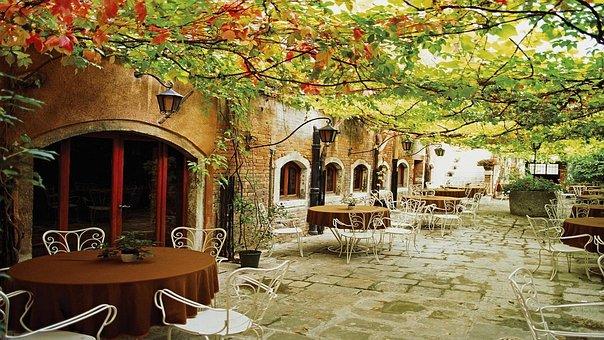 Italy, Outdoor, Café, Travel, Europe, Landscape