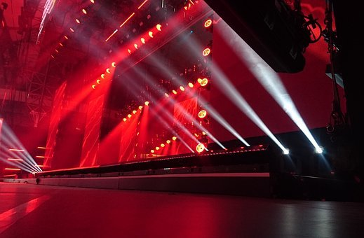 Stage, Lightshow, Show, Performance, Music Stage, Magic