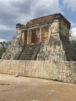 Mayan, Ruin, Arch, Architecture, Mexico, Ancient