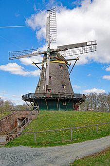 Neu-anspach, Hesse, Germany, Hesse Park, Old Town, Mill