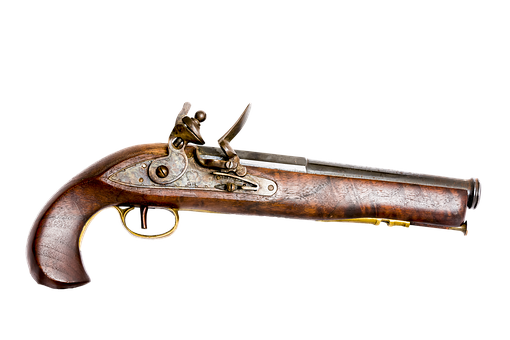 Tower Pistol, Pistol, Tower Flintlock, Japanese