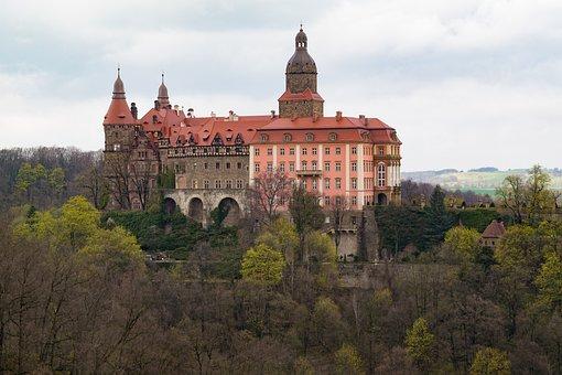 Książ, Castle, Poland, Monument, Castle Książ