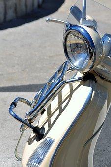 Vespa, Motor Scooter, Roller, Locomotion, Piaggio