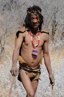 Botswana, Indigenous Culture, Buschman, San