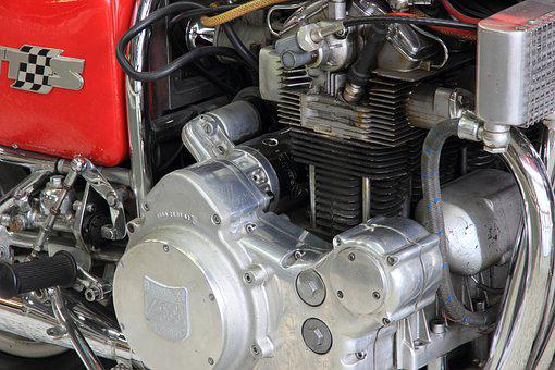 Motorcycle, Engine, Motor, Germany, Speyer