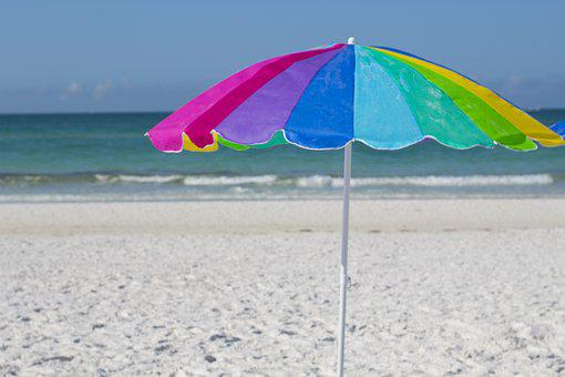 Beach, Vacation, Sunshine, Travel, Fun, Seaside, Ocean