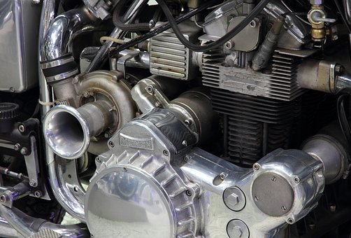 Motorcycle, Engine, Germany, Speyer, Technik Museum