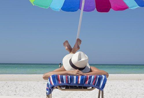 Vacation, Beach, Relax, Travel, Sun, Sea, Ocean