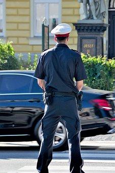 Police, Cop, Figure, Police Officers, Uniform