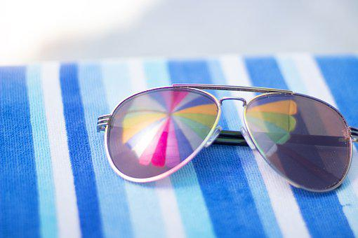 Beach, Vacation, Pool, Summer, Sunglasses