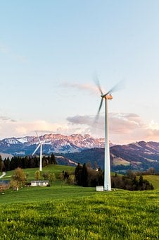 Wind Turbine, Wind Energy, Environmentally Friendly