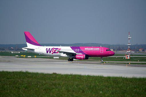 The Plane, Airport, Aviation, Airbus, Wizzair, A320