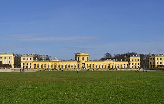 Kassel, Orangery, Architecture, Karlsaue, Stadtschloss