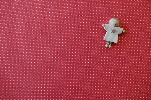 Background, Imp, Angel, Figure