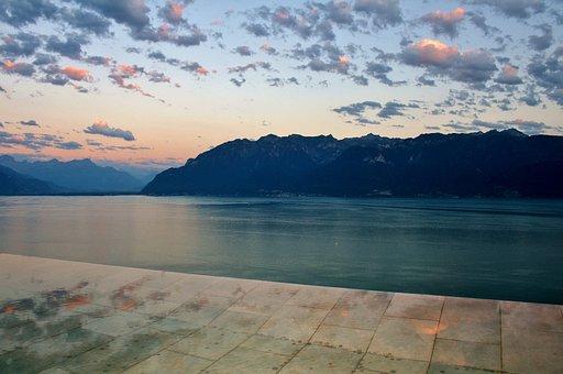 Lake, Leman, Switzerland, Lake Geneva, Chexbres, Water