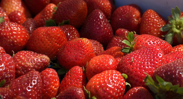 Strawberries, Fruit, Food, Red, Strawberry, Sale, Fresh