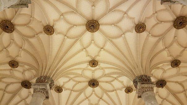 Ceiling, Architecture, Saragossa, Geometry