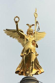 Gold Else, Siegessäule, Berlin, Landmark, Capital