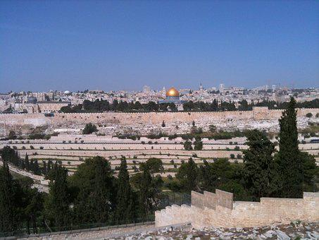 Jerusalem, Dome Of The Rock, Golden Dome
