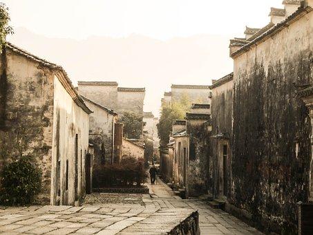 Anhui, Hongcun Village, Guizhou County
