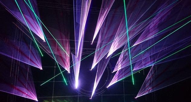Lightshow, Laser, Music, Festival, Laser Show, Disco