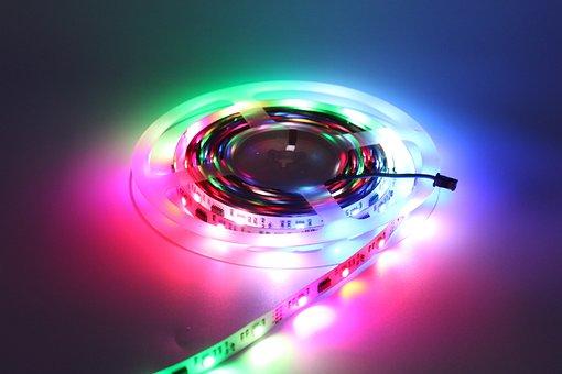 Ledtape, Ledstrip, Led, Lamp, Magic, Color, Flexible