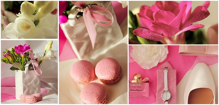 Wedding, Macaroons, Collage, Wedding Collage, Decor