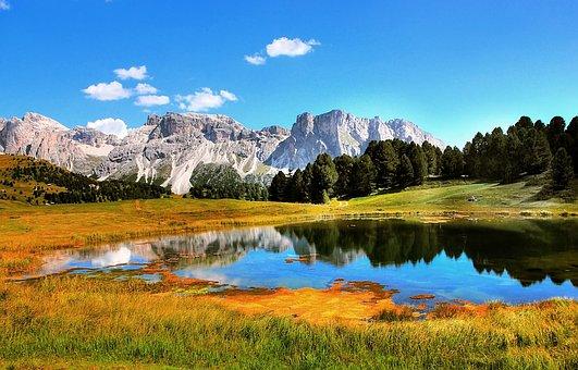 Monte Stevia, Dolomites, Mountains, Alpine, Italy