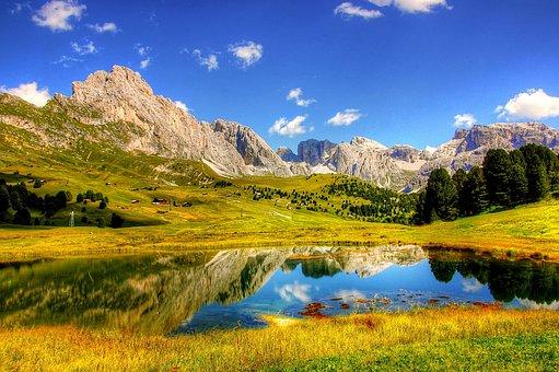 Dolomites, Mountains, Alpine, Italy, South Tyrol
