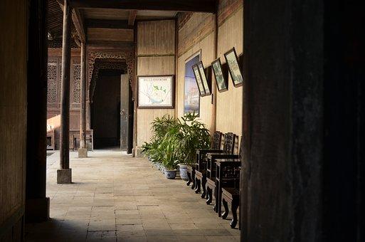 Old Buildings, Hongcun Village, Houses