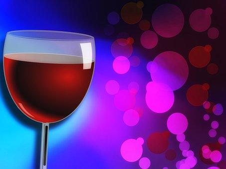 Wine, Glass, Red, Alcohol, Drink, Liquid, Wine Glass