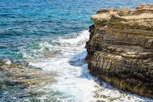 Cliff, Coast, Sea, Waves, Rocky Coast, Erosion, Geology