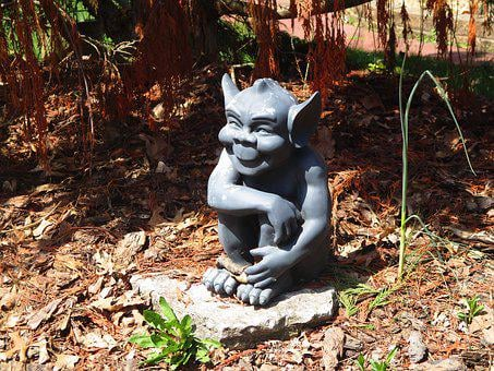 Goblin, Gargoyle, Sculpture, Statue, Decoration