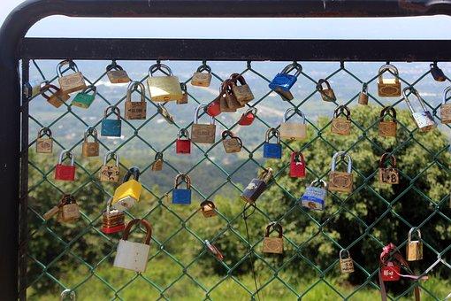 Padlocks, Tied, United States, Closed, Metaphor, Symbol