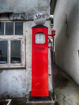 Petrol Pump, Vintage, Gasoline, Fuel, Old, Nozzle