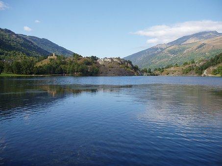 Lake, Pond, French Pyrenees, Water