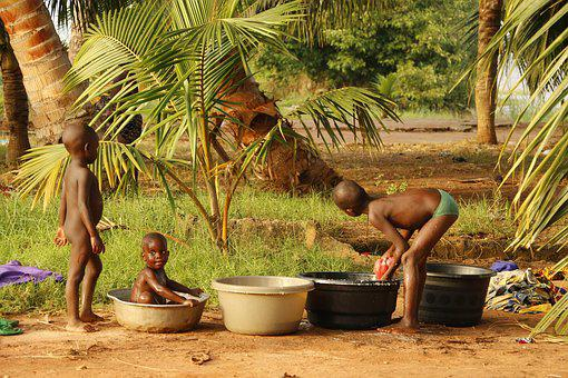 Benin, Africa, Child, Black, Simplicity, Young Child