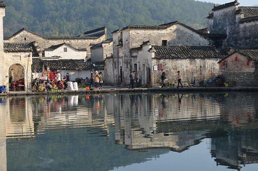 Anhui, Houses, Hongcun Village