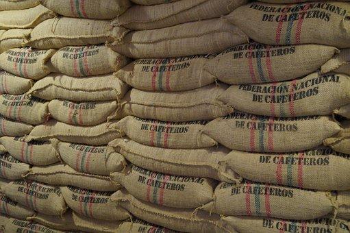 Cafe De Colombia, Cafe In Sac, Bag Cafe