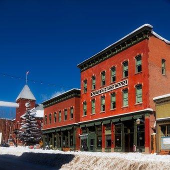 Telluride, Colorado, Town, Urban, City, Hotel