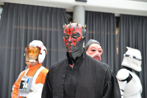 Comiccon, Star Wars, Darth Maul, Display Dummy
